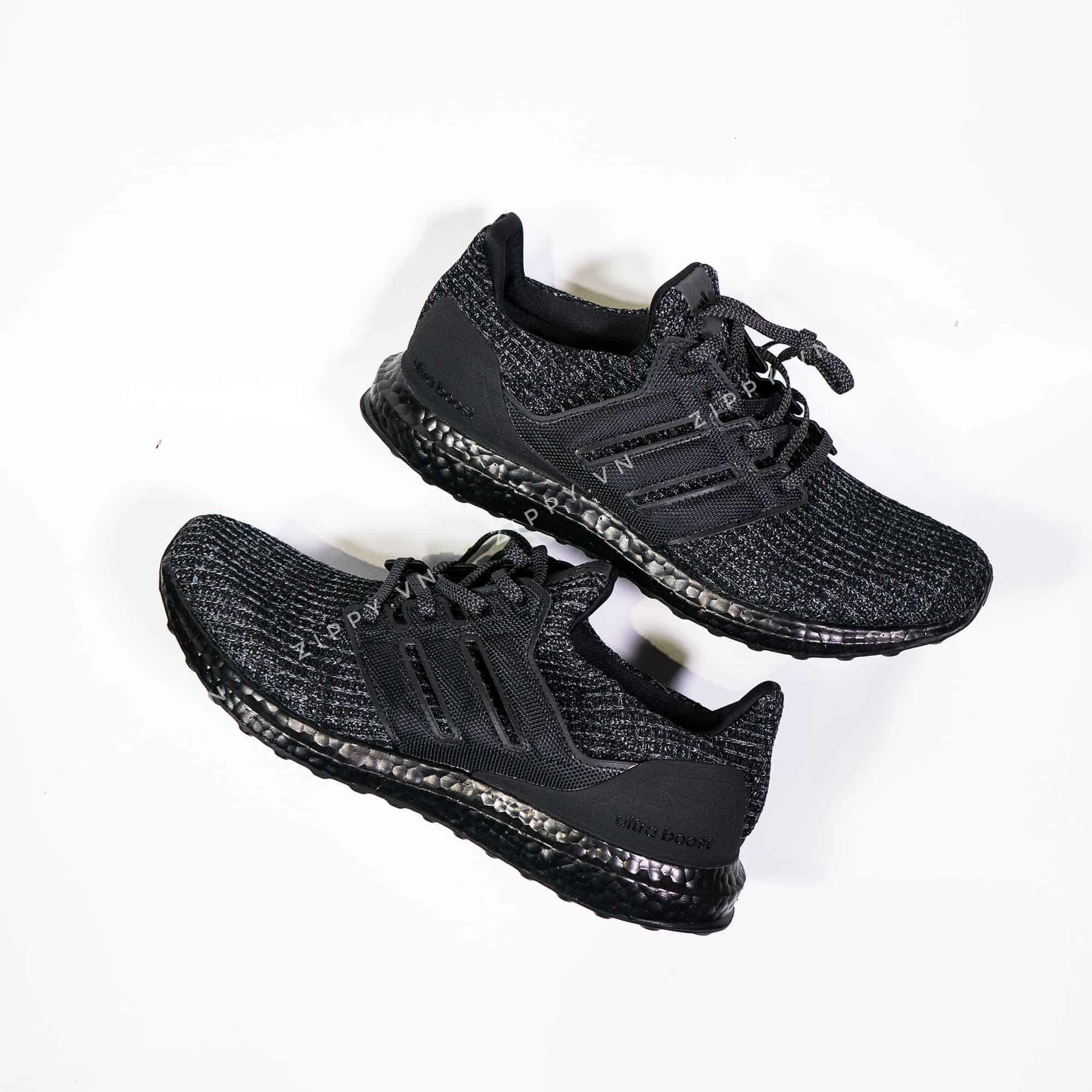 7b57410c43a58 Adidas Ultra Boost 4.0 Replica 1 1 Triple Black – Zippy Giày Replica ...
