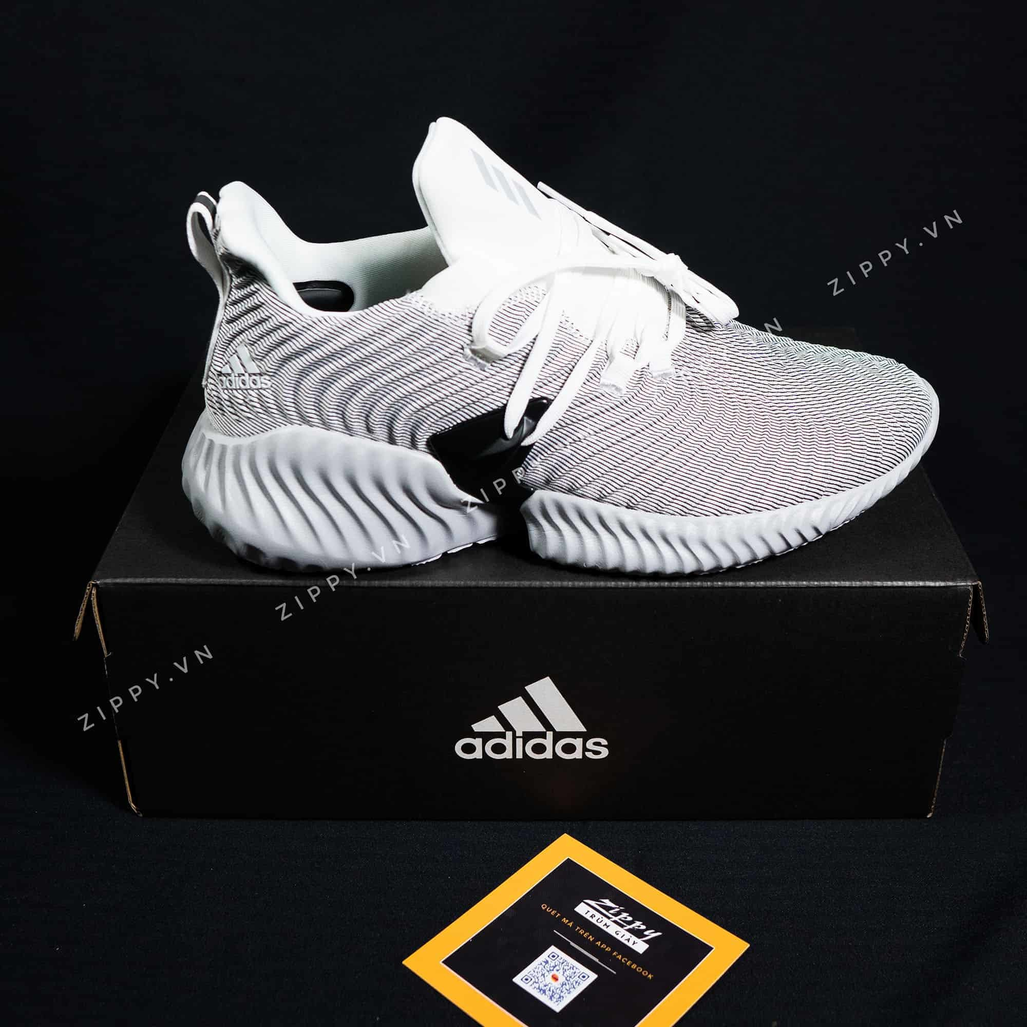 wholesale dealer ec319 9f52a Adidas Alphabounce Instinct Màu Xám Nhạt